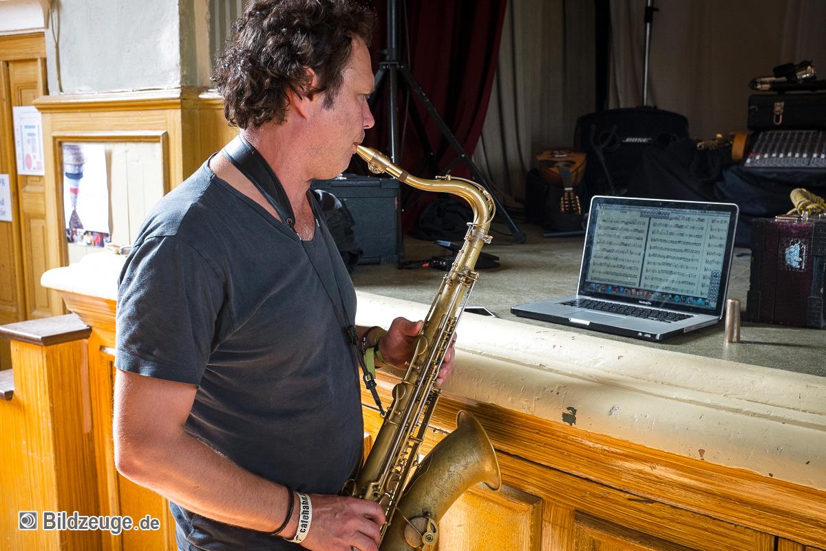 Mulo Francel, Saxophon