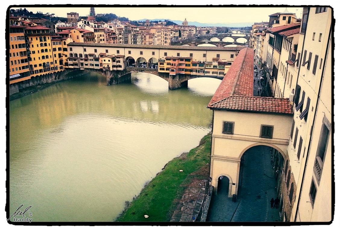 Blick zur Ponte Vecchio
