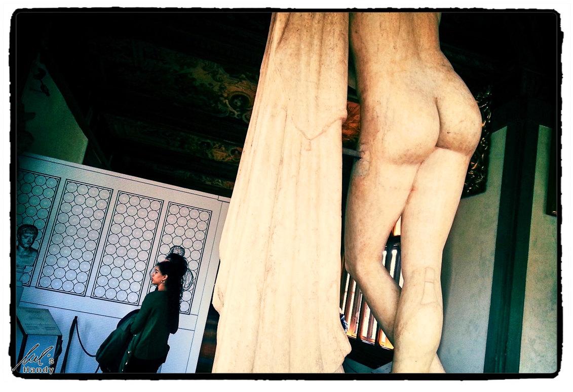 Statue in den Uffizien