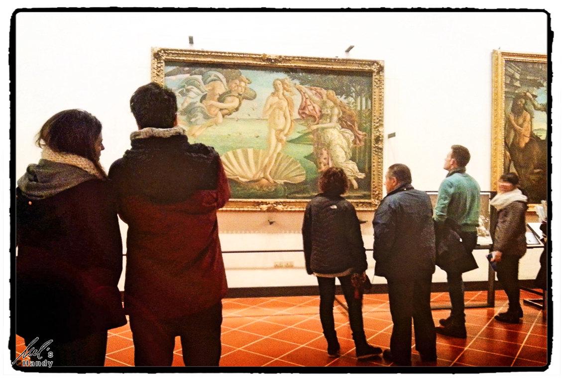 "Botticellis ""Geburt der Venus"""