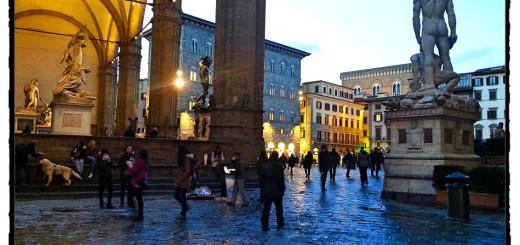 An der Piazza della Signoria